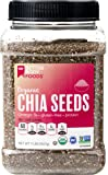 BetterBody Foods Organic Chia Seeds, Non-GMO, Great Taste, 2 Pound
