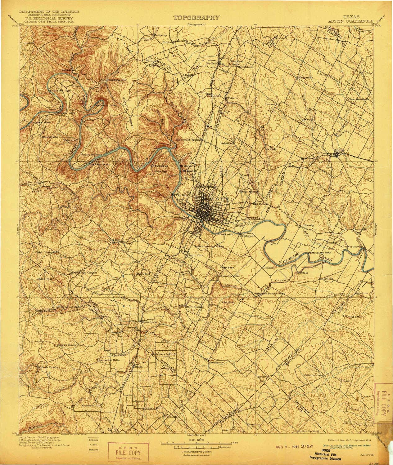 amazon com yellowmaps austin tx topo map 1 125000 scale 30 x 30 minute historical 1910 updated 1921 19 9 x 16 8 in paper sports outdoors yellowmaps austin tx topo map 1 125000 scale 30 x 30 minute historical 1910 updated 1921 19 9 x 16 8 in