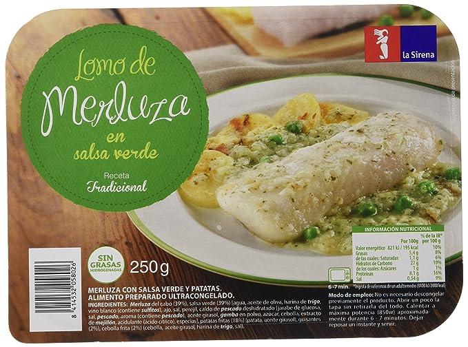 Merluza Con Salsa Verde Bja.250G