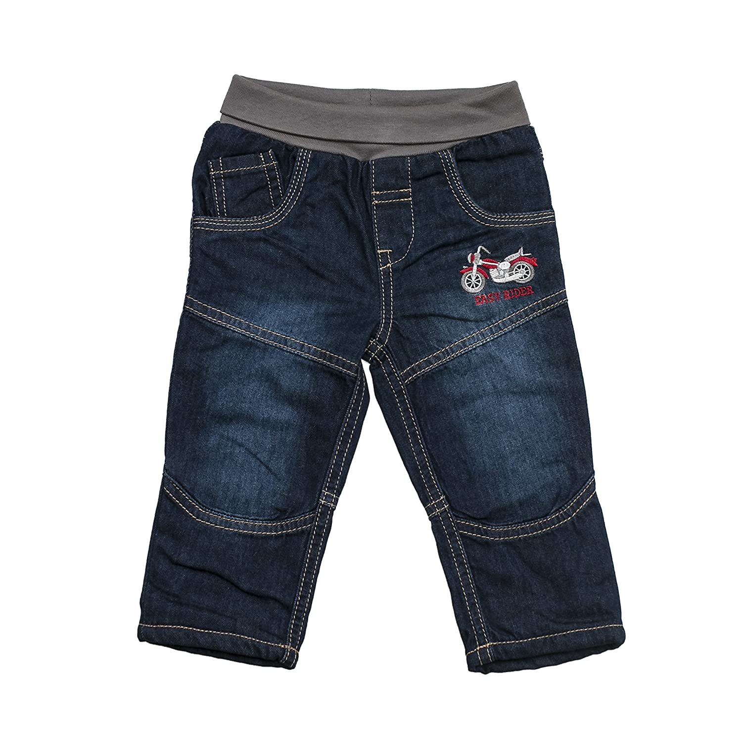 SALT AND PEPPER Baby-Jungen Jeanshose B Jeans Keep Moving Bike Blau (original 099) 68 65220136
