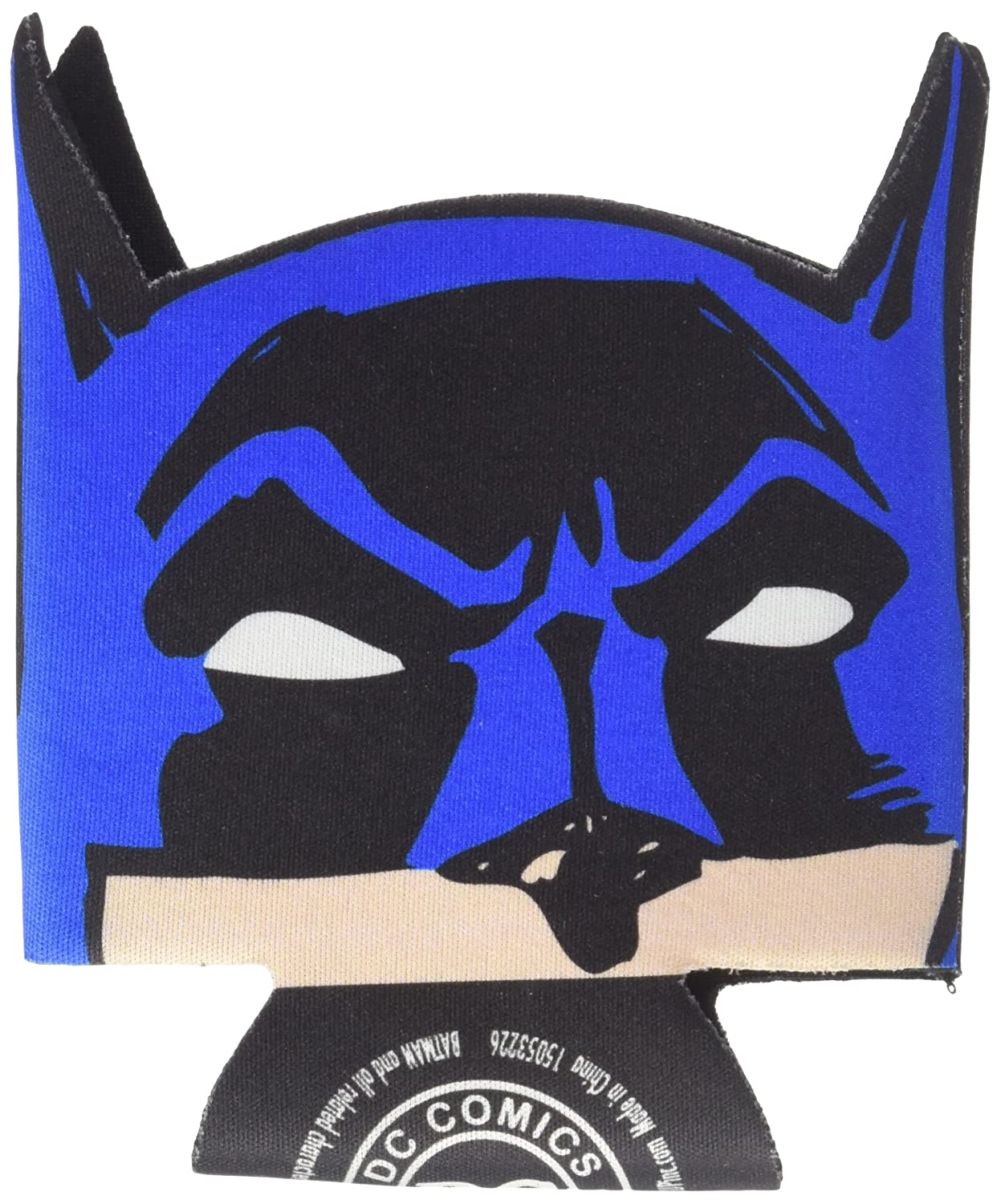 ICUP DC Batman Die Cut Face Huggie/Koozie with Card, Clear I-Cup 07704