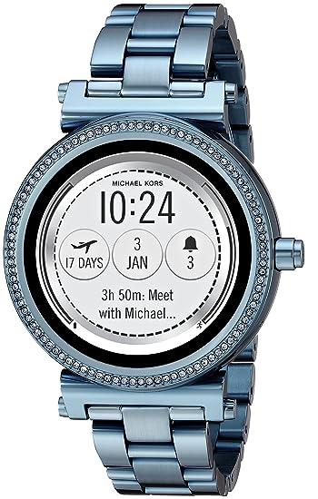 Michael Kors Reloj Analogico para Unisex de Cuarzo con Correa en Acero Inoxidable MKT5042