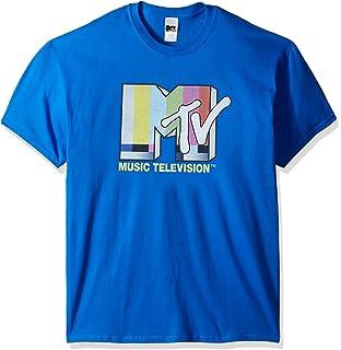 dc099aebe Amazon.com: Fifth Sun MTV Men's Retro Logo Drip T-Shirt: Clothing