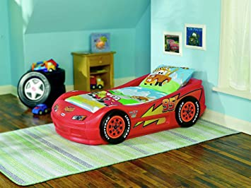 Little Tikes Lightning McQueen Roadster Toddler Bed & Amazon.com: Little Tikes Lightning McQueen Roadster Toddler Bed ... azcodes.com
