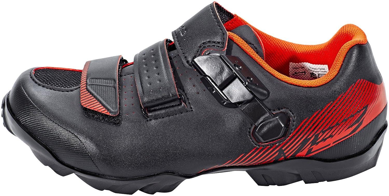 Shimano Zapatillas MTB ME300 Negro/Naranja: Amazon.es: Deportes y aire libre