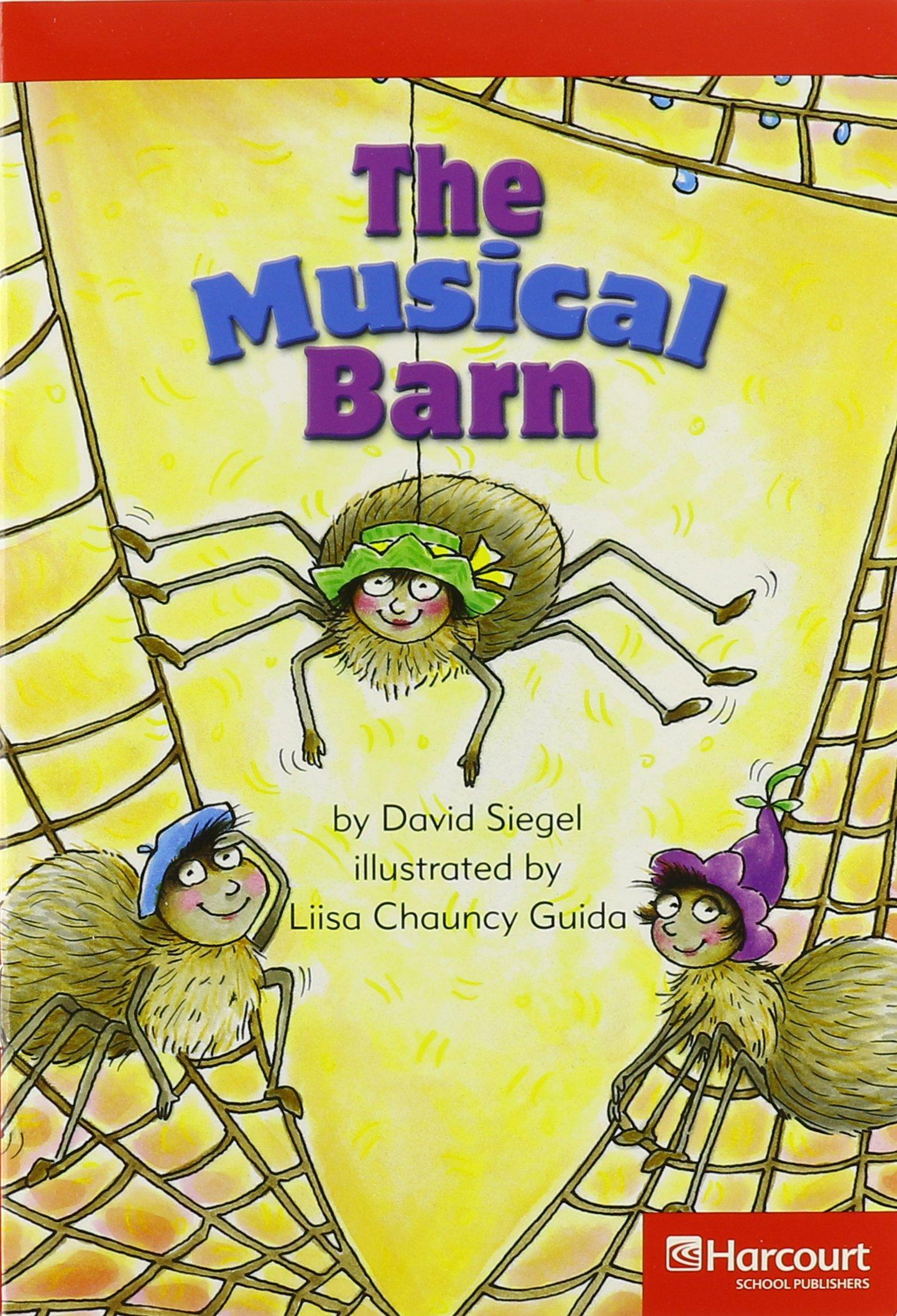 Read Online Storytown: Below-Level Reader 5-Pack Grade 3 The Musical Barn PDF