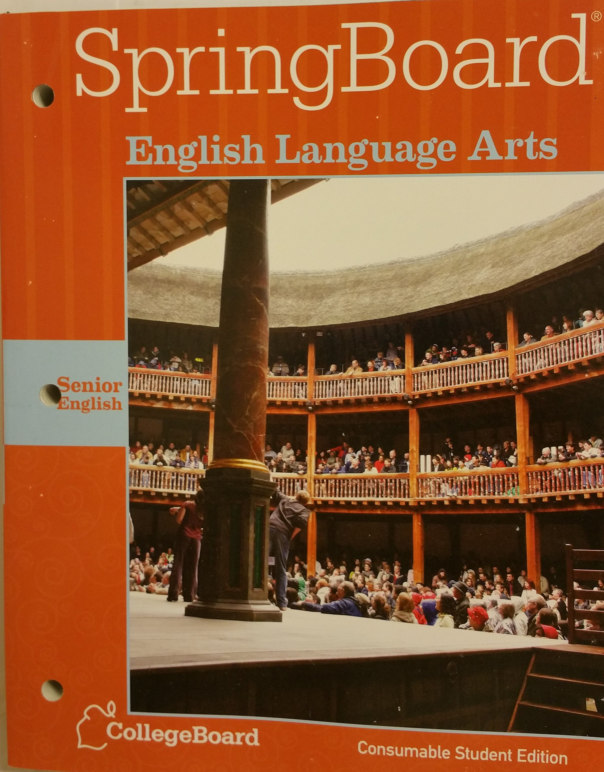 Springboard english language arts senior english grade 12 consumable springboard english language arts senior english grade 12 consumable student edition 2014 collegeboard english 9781457302244 amazon books fandeluxe Choice Image