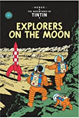 Tintin: Explorers on the Moon Mass Market Paperback