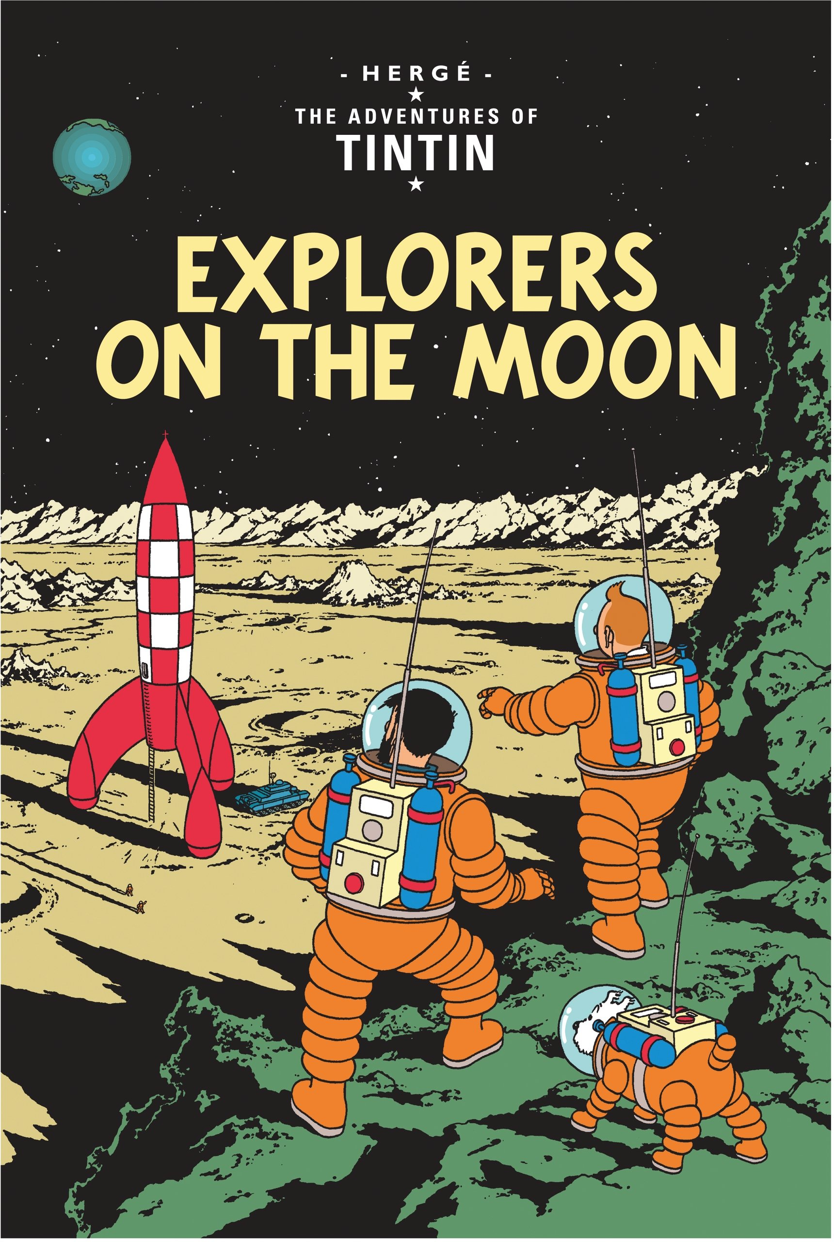 Explorers on the Moon (Adventures of Tintin, Band 17)