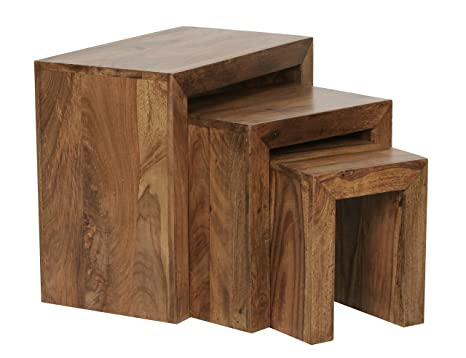 Tavolini Da Salotto In Legno Massiccio : Bellissimo tavolino da salotto in legno massiccio di sheesham