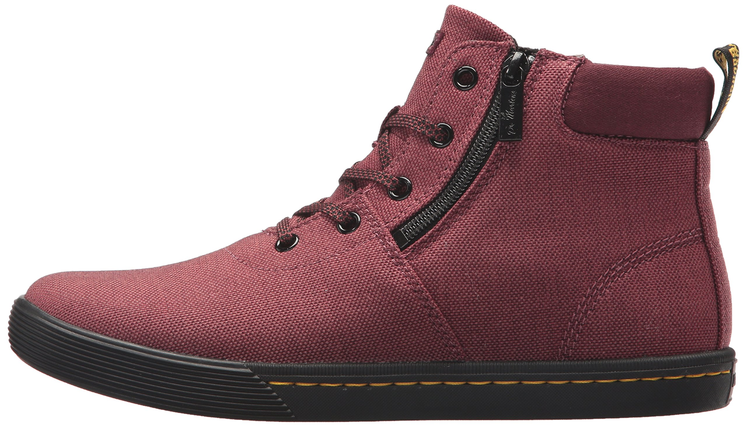 Dr. Martens Women's Maegley Fashion Boot, Cherry Red Woven Textile+Fine Canvas, 5 Medium UK (7 US) by Dr. Martens (Image #5)