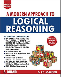 Buy A Modern Approach To Verbal Non Verbal Reasoning Old Edition