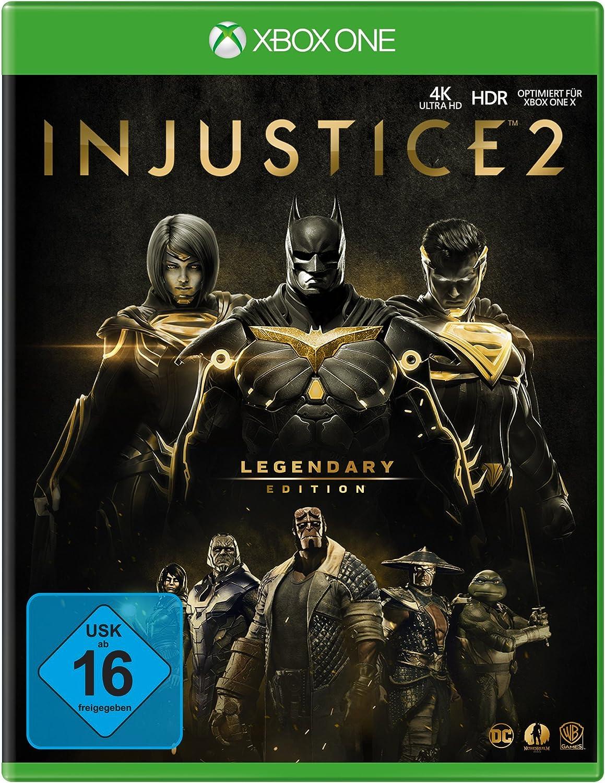 Injustice 2 - Legendary Edition - Xbox One [Importación alemana]: Amazon.es: Videojuegos