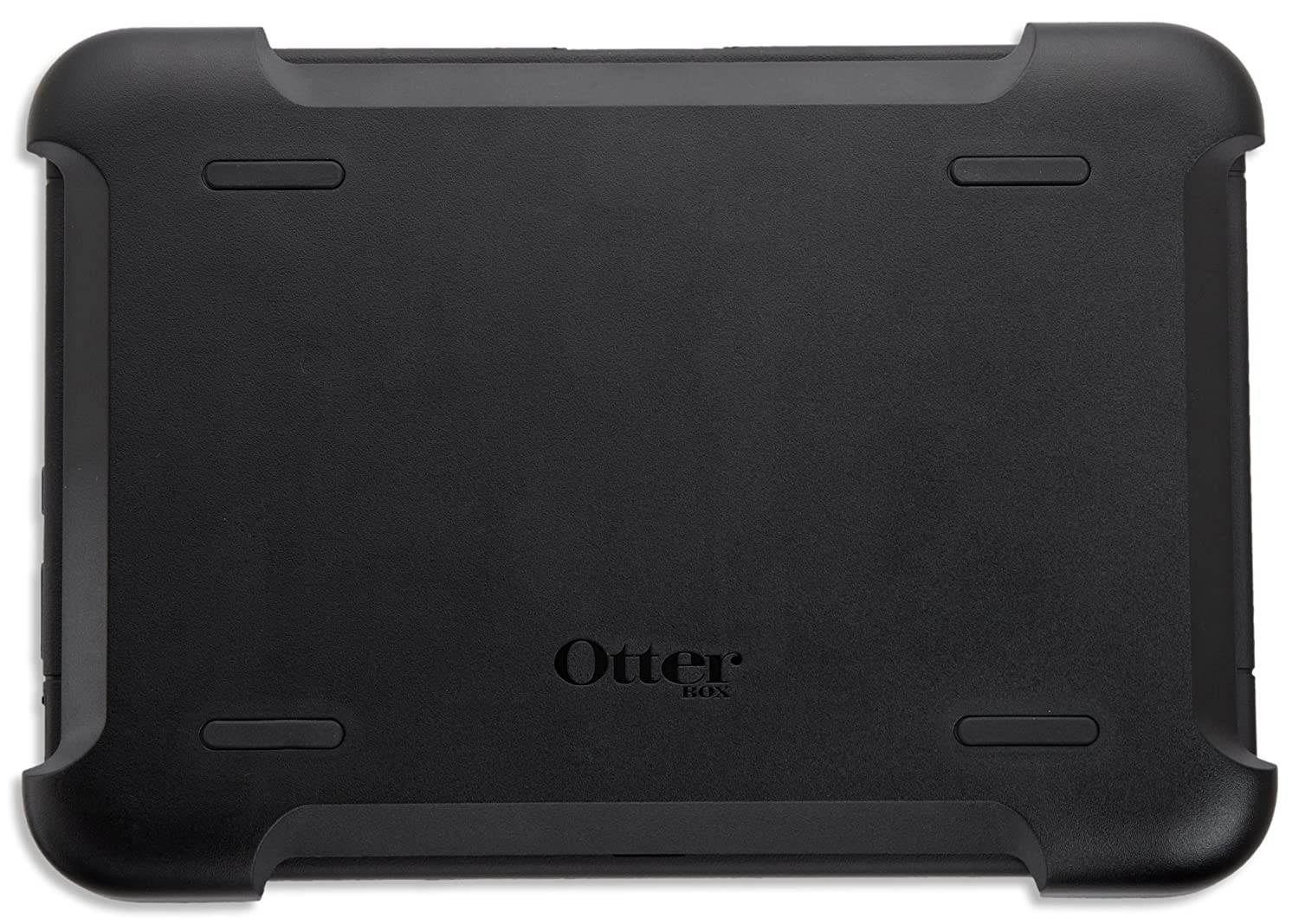 Black OtterBox Defender Series Protective Case for Kindle Fire HD 8.9 with built-in screen protection