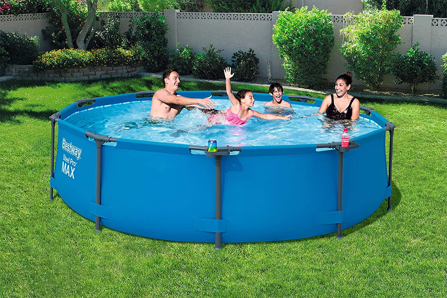 Bestway 56408 - Piscina Desmontable Tubular Steel Pro Max 305x76 ...