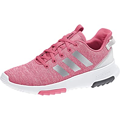 new style 8c226 77c6f adidas Cloudfoam Racer TR K, Chaussures de Running Compétition Fille, Rose  (Reapnk