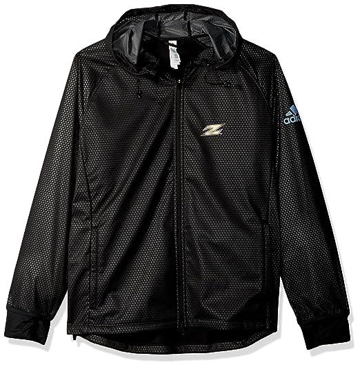 e54d7fa2a Amazon.com : adidas Team Logo Climastorm Full Zip Jacket : Clothing