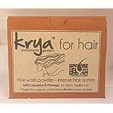 Krya Intense Herbal Shampoo Powder with 21 Rich Ayurvedic Herbs (100)