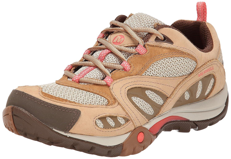 Merrell Women's Azura Hiking Shoe B00KZJ3G0C 6.5 B(M) US|Tan/Coral