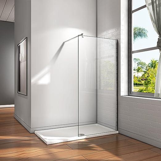 Duschwand ENTRY-PF Duschkabine Duschabtrennung Dusche Milchglas Duschtrennwand