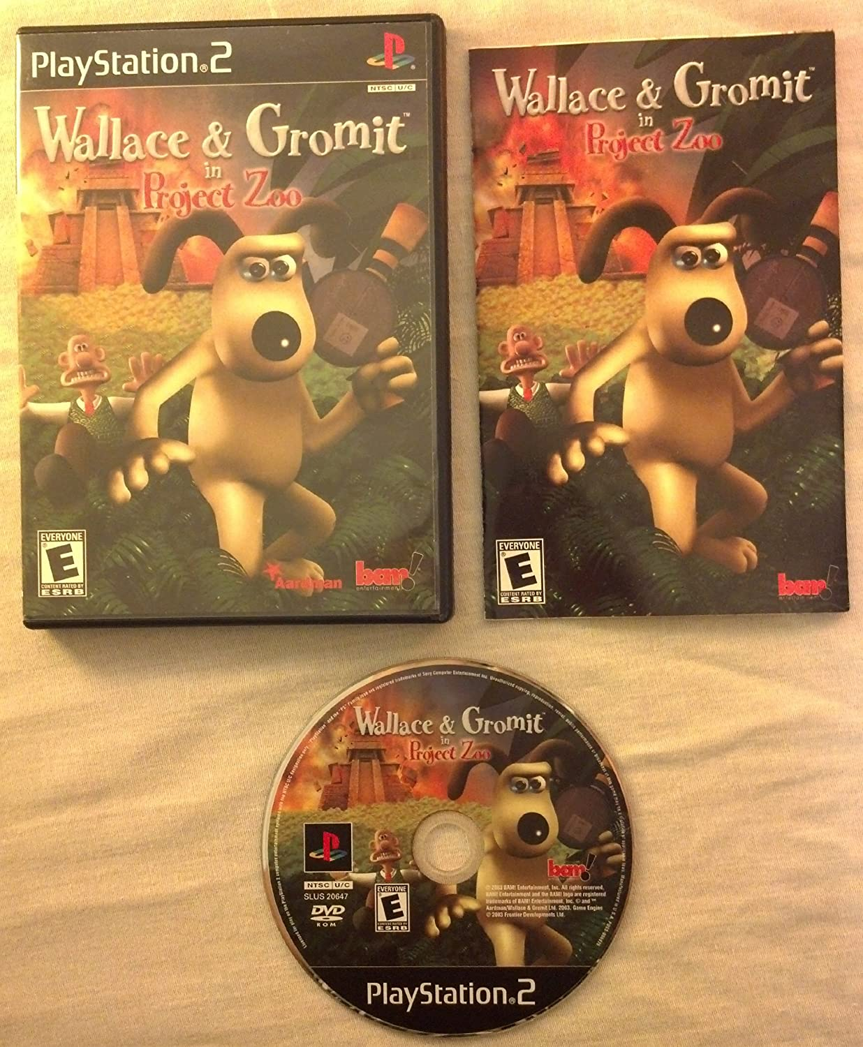 Amazoncom Wallace and Gromit in Project Zoo Video Games