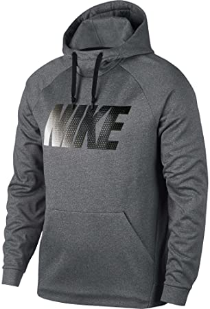 Nike® Therma Heathered Graphic Hoodie