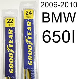 "product image for BMW 650I (2006-2010) Wiper Blade Kit - Set Includes 24"" (Driver Side), 22"" (Passenger Side) (2 Blades Total)"