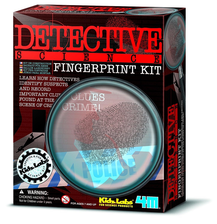 Kit Great Gizmos KidzLabs 4m Fingerprint Little Leanerss