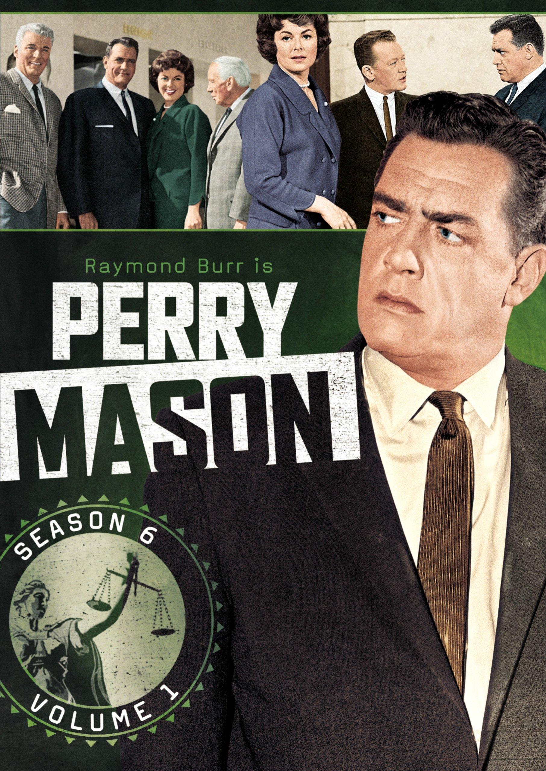 DVD : Perry Mason: Season 6 Volume 1 (Full Frame, 4 Disc)
