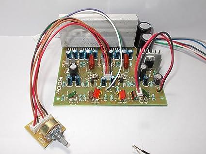 SOUMIK ELECTRICALS 4440 Amplifier Board, 1500 Watt: Amazon in