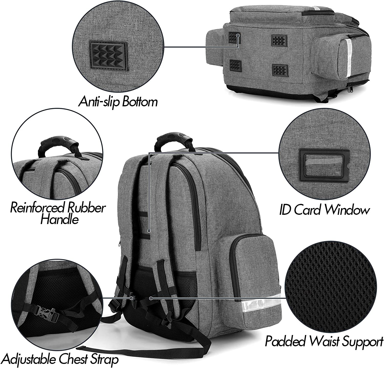 Tbest Notfallbehandlung Pack 160g 100D Oxford Stoff Erste Hilfe Medical Bag Pouch Rucksack f/ür Reisen Camping Radfahren