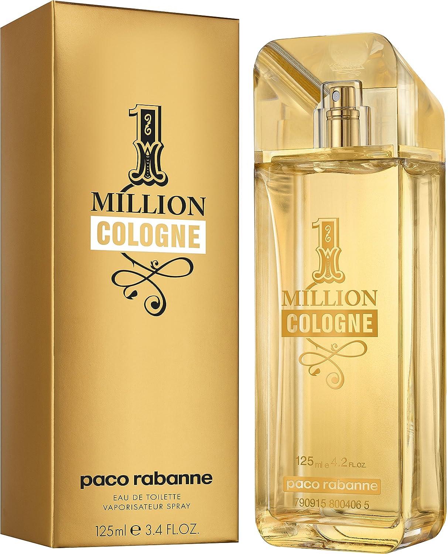 Paco Rabanne 1 Million Cologne Eau De Toilette Spray 125 Ml Amazon