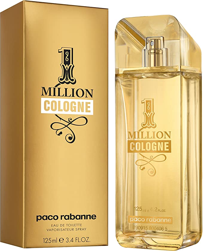 Paco Rabanne 1 Million Cologne agua de colonia Vaporizador 125 ml