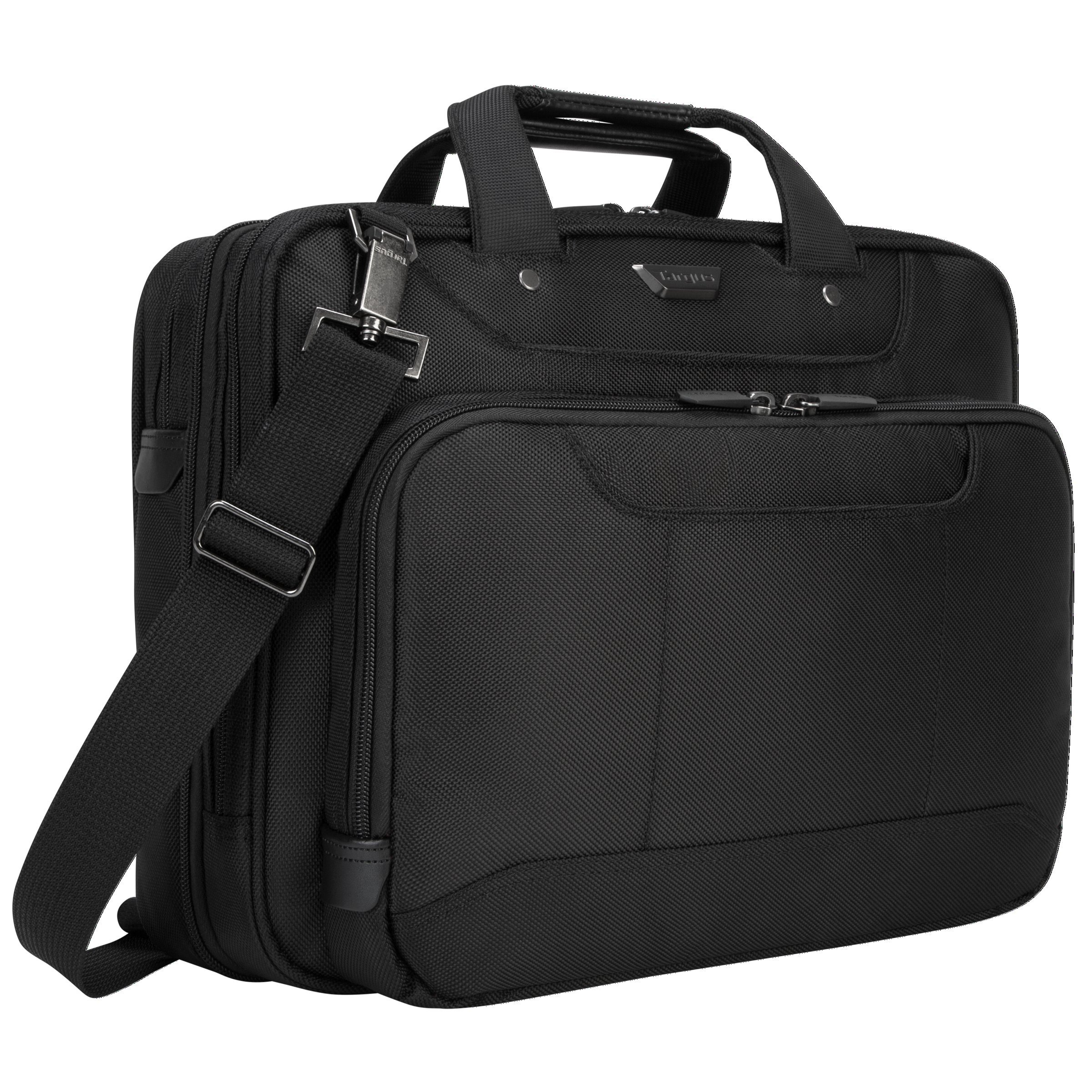 Targus Corporate Traveler Checkpoint-Friendly Traveler Laptop Case for 14-Inch Laptops, Black (CUCT02UA14S) by Targus