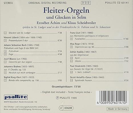 VARIOUS ARTISTS - Fleiter-Orgeln & Glocken - Amazon.com Music