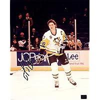$44 » MARIO LEMIEUX Autographed Hand SIGNED Pittsburgh PENGUINS 8x10 Stanley Cup Trophy PHOTO w/COA