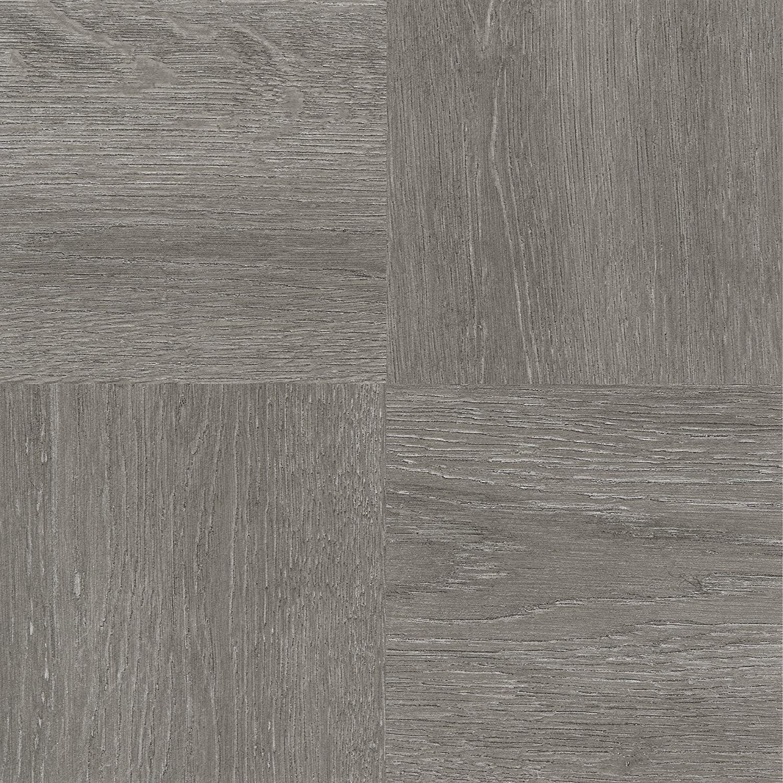 "Achim Home Furnishings FTVWD22920 Nexus Self Adhesive 20 Vinyl Floor Tiles, 12"" x 12"", Charcoal Grey Wood, Piece (Full Size)"
