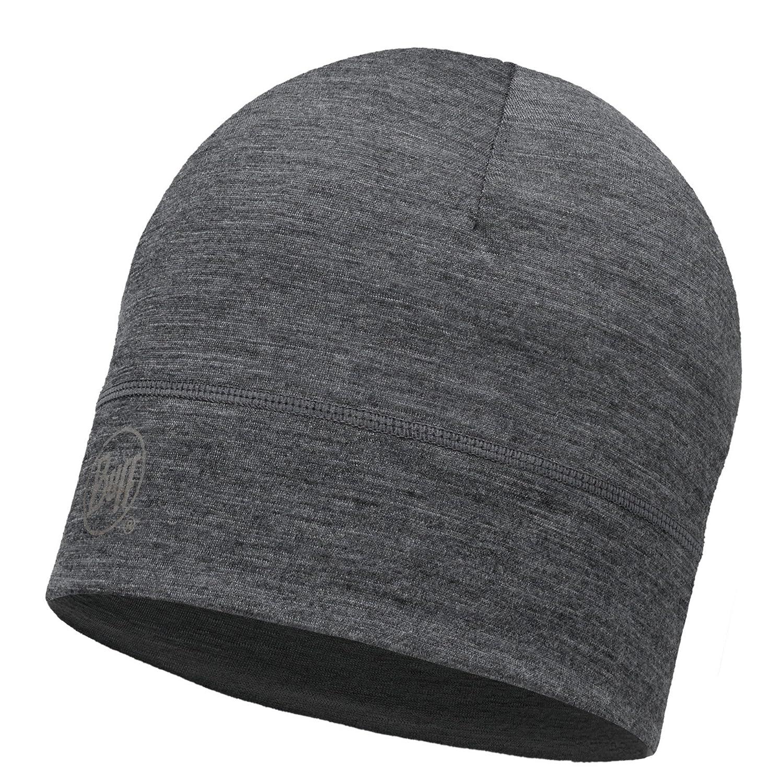 BUFF® SET MERINO HAT Mütze Beanie (Bitte wählen: 1 Layer, 2 Layer Reversible, 2 Layer Slouchy, Minimal) + UP® Ultrapower Schlauchtuch BUFF+UP
