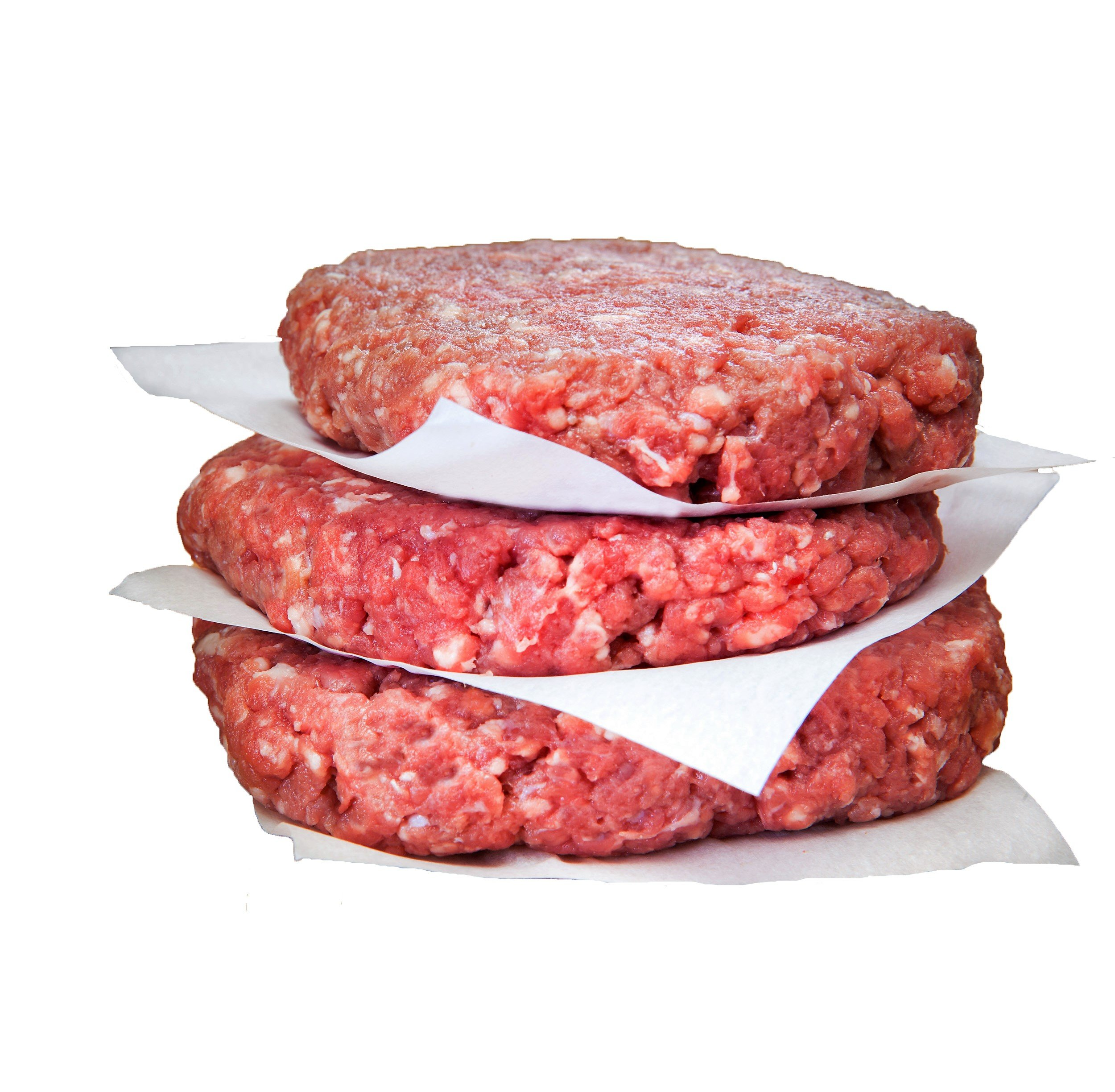 100% Grass Fed Ground Beef Patties 85% Lean, 15% Fat 1/3lb. (12 pack)