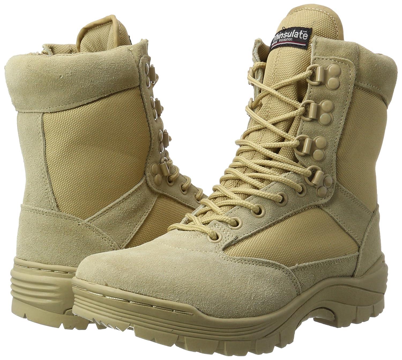normani Tactical Boot mit YKK-Zipper Farbe Khaki Gr/ö/ße 41