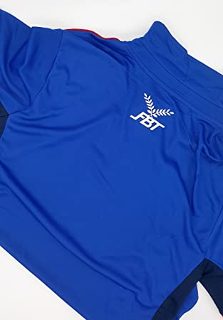Amazon.com : FBT - Shirt + Shorts Cambodia national football team Soccer Jersey Blue Size S : Sports & Outdoors