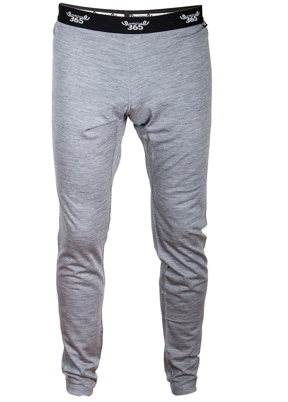 Merino 365 Mens Slim Pant New Zealand Merino Baselayer Pant with Gusset