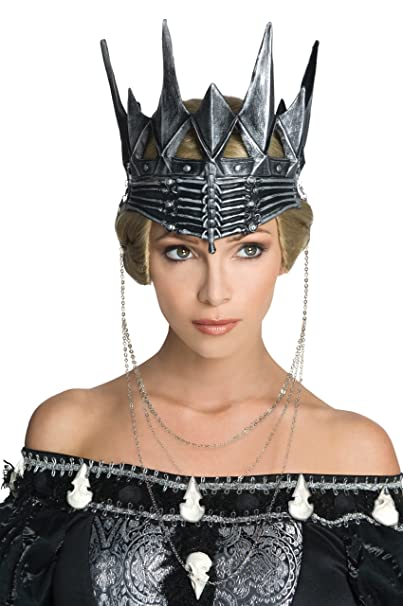 snow white and the huntsman queen ravennas crown metal one size