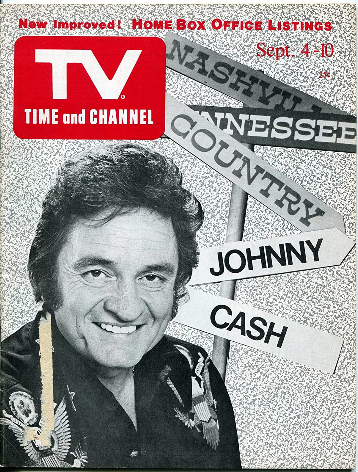 TV Time and Channel Magazine September 1976- Johnny Cash- Paul ...