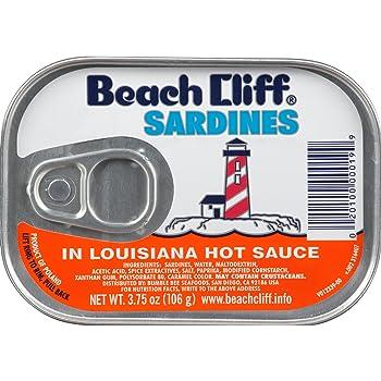 Beach Cliff Canned Sardine