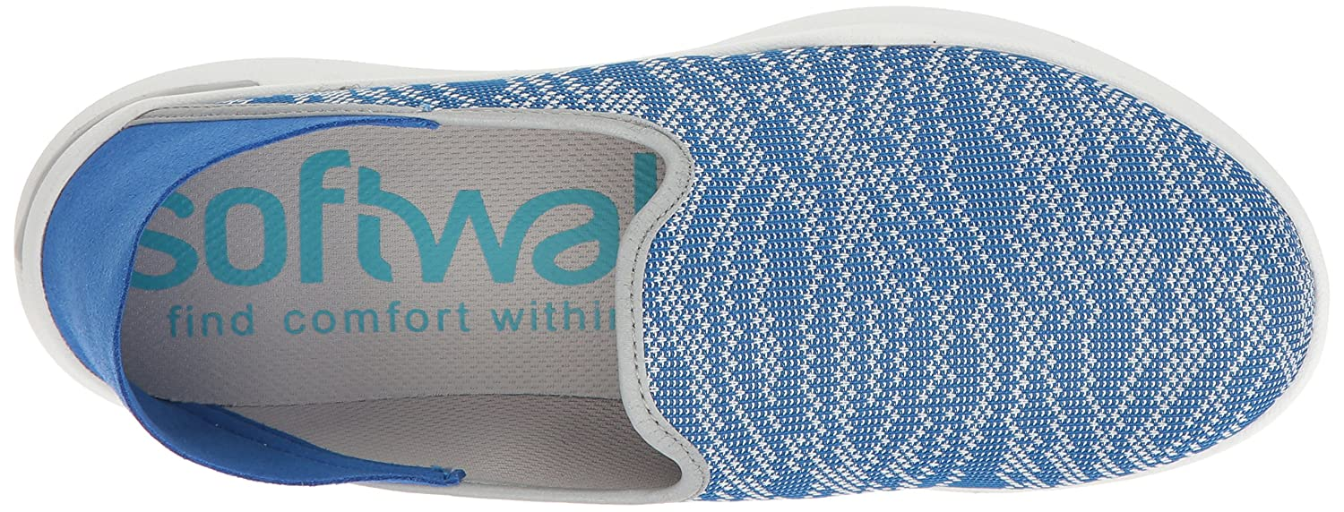 SoftWalk Women's W Simba Flat B01HQVQW6G 7 W Women's US|Blue d30f7f