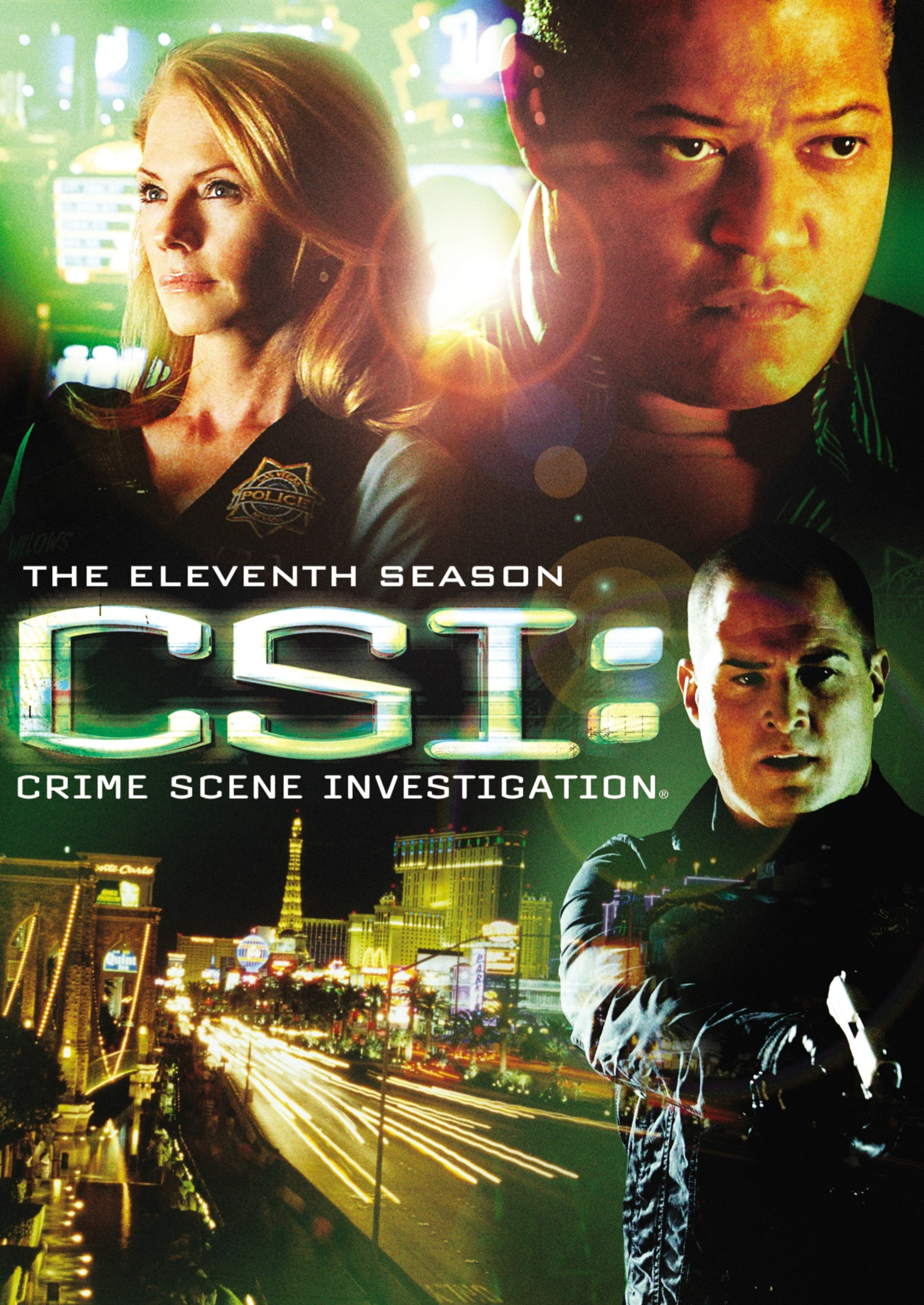 DVD : CSI: The Eleventh Season (Widescreen, 6 Disc)