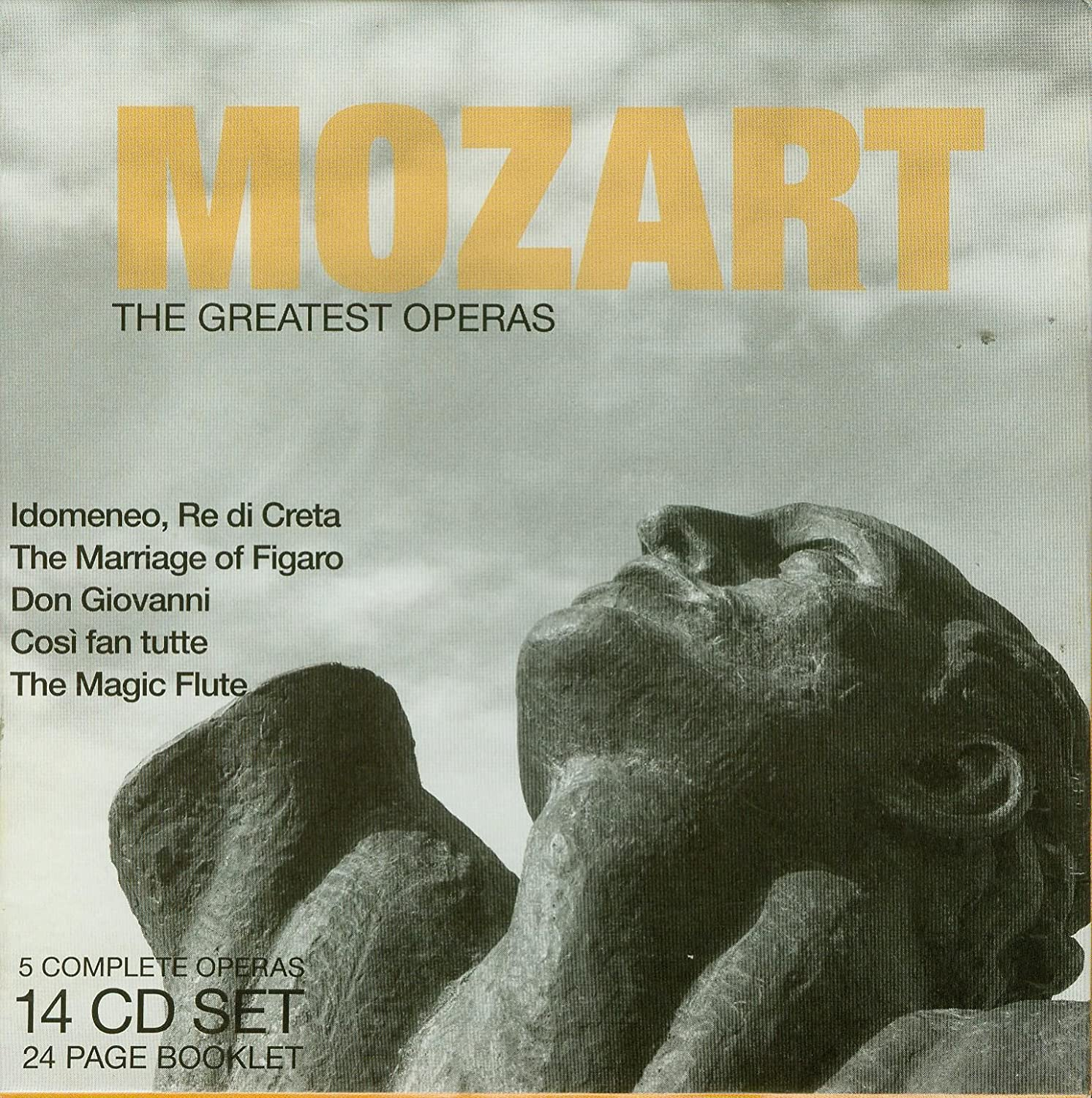Max 42% OFF At the price of surprise Mozart: Greatest Operas