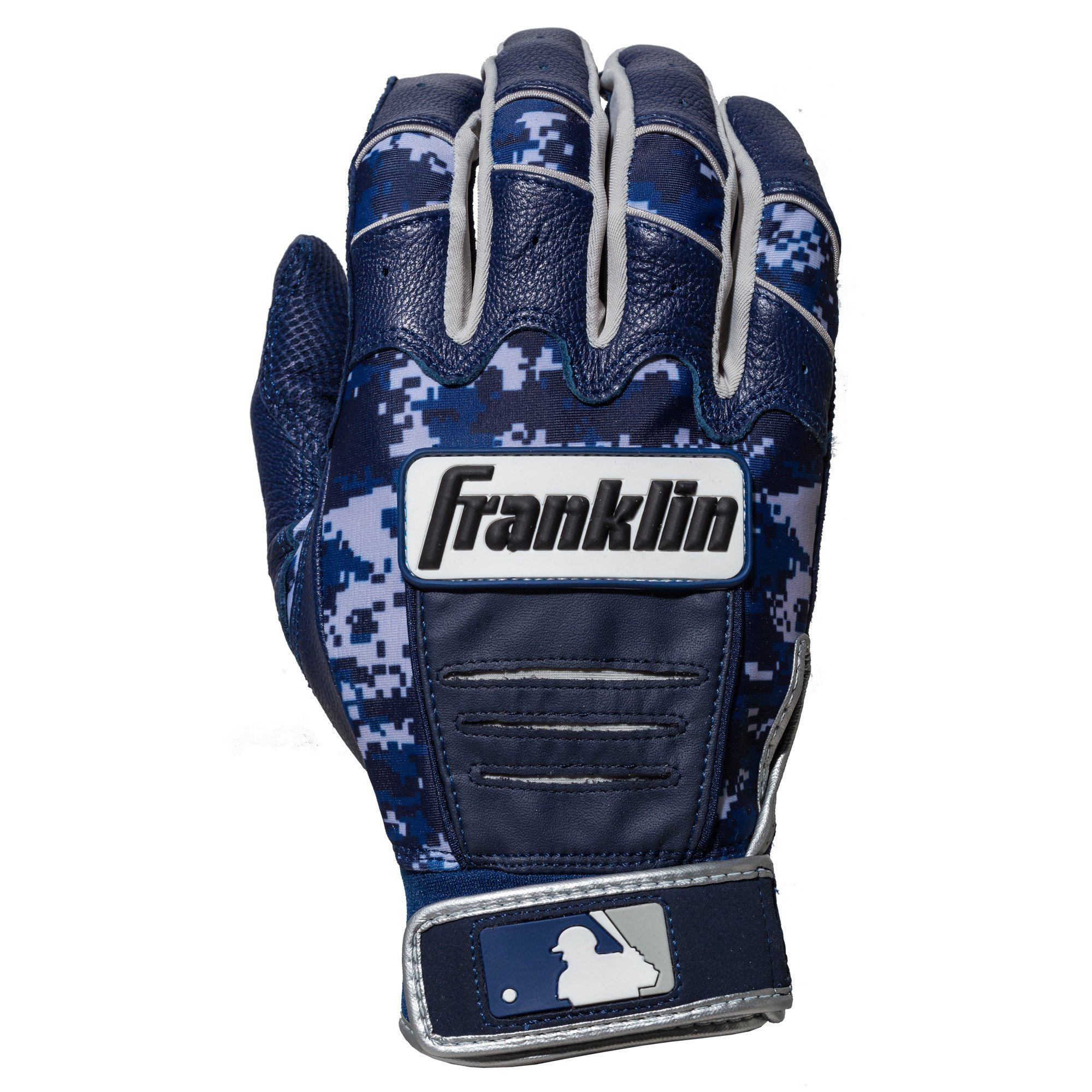 Franklin Sports CFX Pro Digi Series Batting Gloves Navy/Navy Camo Adult Small by Franklin Sports (Image #2)