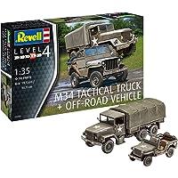 Revell M34 táctico camión Dentro y Fuera